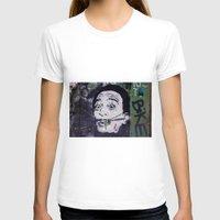 salvador dali T-shirts featuring Salvador Dali by Victoria Herrera