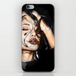 Angelina - Dia de los Muertos iPhone Skin