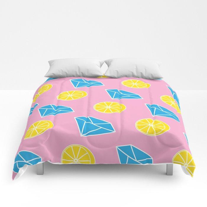 Diamonds and Lemons Comforters