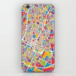 Austin Texas City Map iPhone Skin