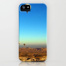 Hot Air Balloons (Color) iPhone Case