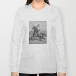 Colonel Theodore Roosevelt On Horseback Long Sleeve T-shirt