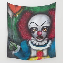 we all float down here Wall Tapestry