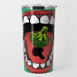 Eat Your Greens! Travel Mug