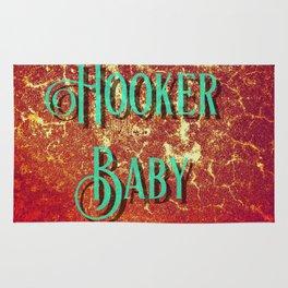 Nasty Girls: Hooker Baby Rug