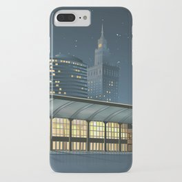 Monumental city at night iPhone Case