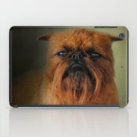 brussels iPad Cases featuring The Brussels Griffon by Jai Johnson