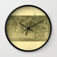 There is unrest in the forest Wall Clock