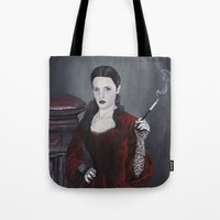 discworld Tote Bags featuring Adora Belle Dearheart by Mage Lanz