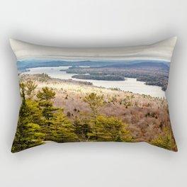 late october on bald mountain Rectangular Pillow