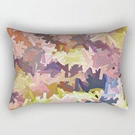 Color Stacks Rectangular Pillow