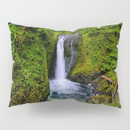 Columbia River Gorge Waterfall  Pillow Sham