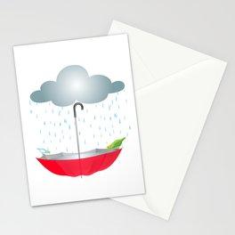 Refugio de animales Stationery Cards