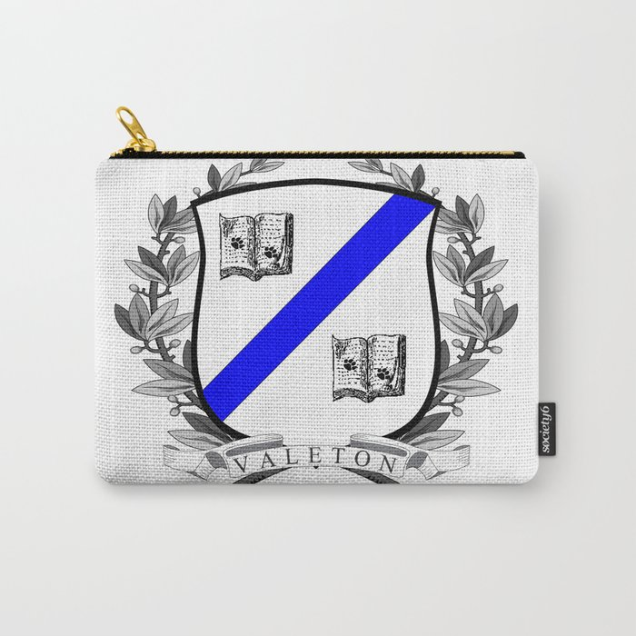 Valeton University Crest Carry-All Pouch