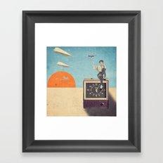 Catching Life Framed Art Print