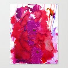 Oahu Red Canvas Print