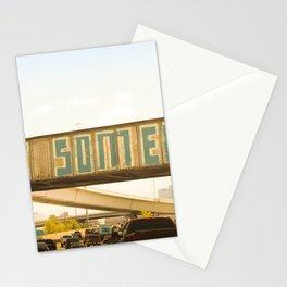 Be Someone Houston Stationery Cards