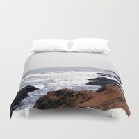 iceland Duvet Covers featuring Iceland by Ninja Reith