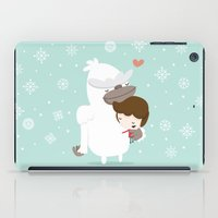 yeti iPad Cases featuring Yeti by Alfonso Cervantes