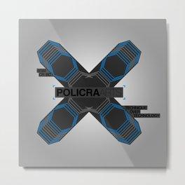 Policra Arts Metal Print