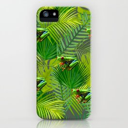 Frog Forest iPhone Case