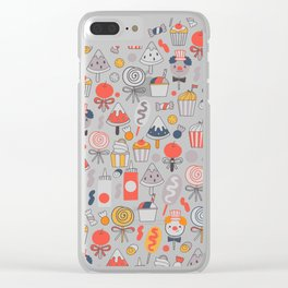 Big top treats. Funny Circus Clear iPhone Case