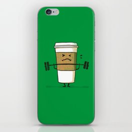 Strong Coffee iPhone Skin