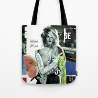 brand new Tote Bags featuring The Brand New Look by Marko Köppe