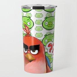 Angry birds poster Travel Mug