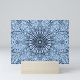 Geometric Flower c13724.10 Mini Art Print