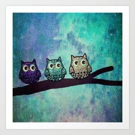 owl 31 Art Print