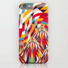 Colorful Mountains Slim Case iPhone 6