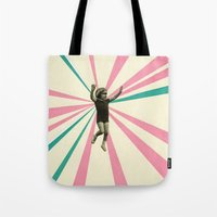 play Tote Bags featuring Play by Cassia Beck