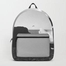 Crashing Waves Noir Backpack
