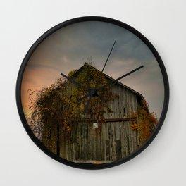 Barn 3 Wall Clock
