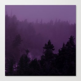 Purple Fog Canvas Print
