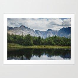Cuillin Ridge - Isle of Skye, Scotland Art Print
