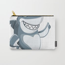 Sorry i can't it's Week Funny Shark Gift T-Shirt Carry-All Pouch