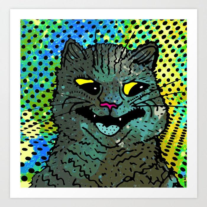 A CAT. Art Print