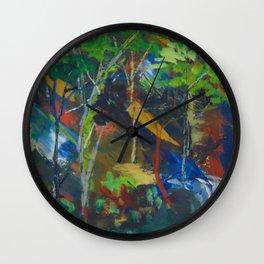 Extra paint Wall Clock