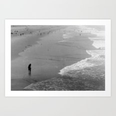 Reflective Seas Art Print