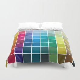 Colorful Soul - All colors together Duvet Cover