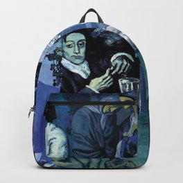 Blue Picasso Backpack
