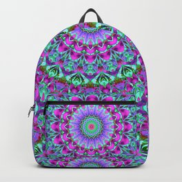 Geometric Mandala G386 Backpack