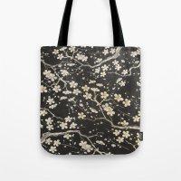 sakura Tote Bags featuring Sakura by Paula Belle Flores