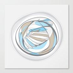 birdwing circle Canvas Print