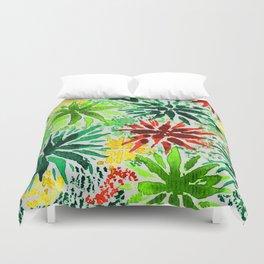 vegetal aquarelle Duvet Cover