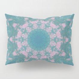 Navajo Turquoise Gemstone Mandala No. 40 Pillow Sham
