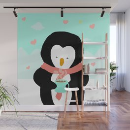 Lovely Penguin Wall Mural