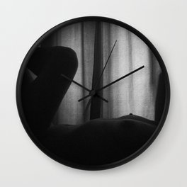 Nude #1 Wall Clock